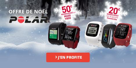 Polar offre de Noel, jusqu'à 50€ remboursés