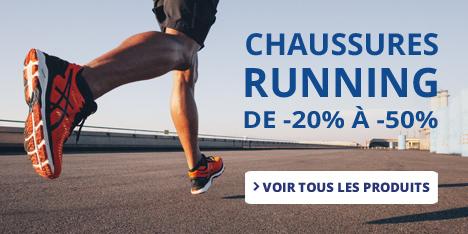 Chaussures Running de -20% à -50%