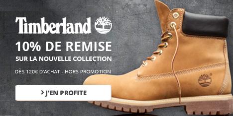 10% de remise sur la nouvelle collection Timberland