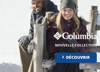 Columbia Nouvelle collection hiver 2015