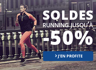 Soldes Running jusqu'à -50%