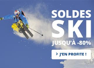 Soldes Ski jusqu'à -80%