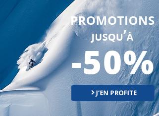 promotions jusque 50 pourcent